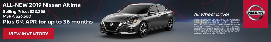 2019 Nissan Altima - Purchase
