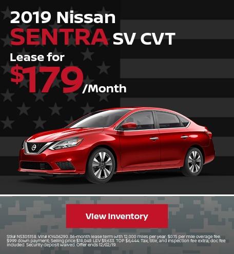 New 2019 Nissan Sentra - November