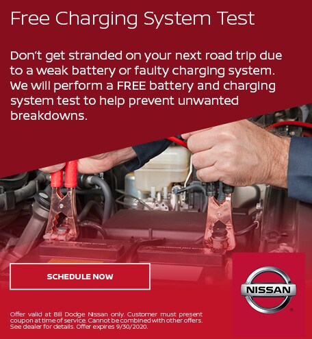 Free Charging System Test - July
