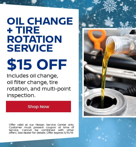 Oil Change + Tire Rotation Service