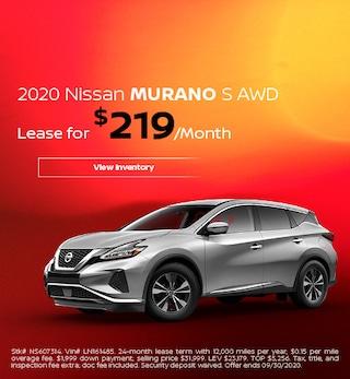 2020 Nissan Murano S AWD - Sept