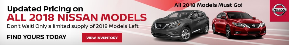 2018 Nissan Models - Updated Pricing