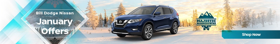 Bill Dodge Nissan January Offers