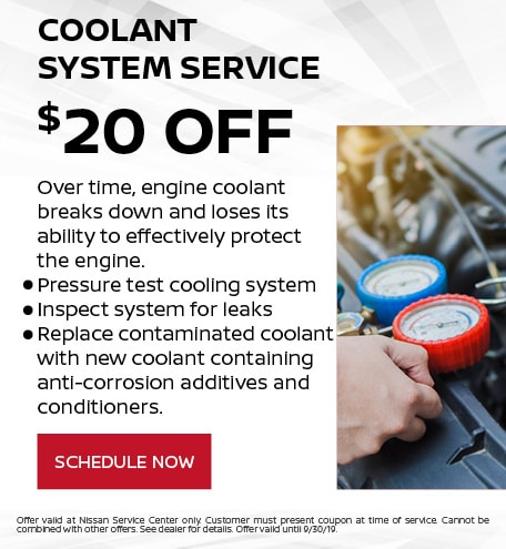 Coolant System Service - $20 OFF