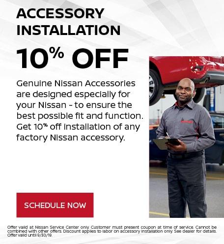 Accessory Installation - 10% OFF