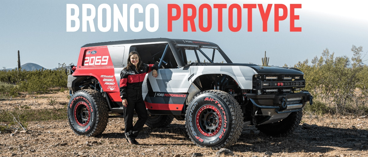 the new 2021 off-road bronco