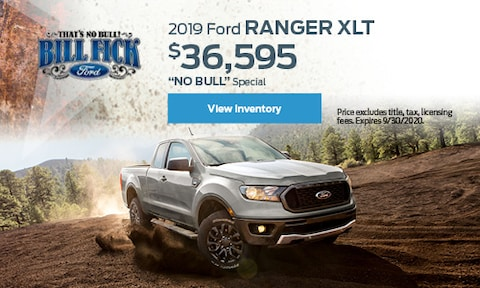 2019 Ford Ranger Blowout Sale