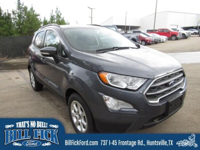 New 2019 Ford EcoSport SE SUV Huntsville