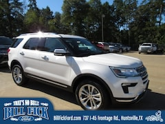 New 2019 Ford Explorer Limited SUV for sale in Huntsville TX