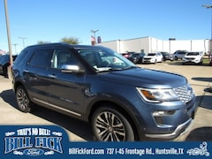 New 2019 Ford Explorer Platinum SUV for sale in Huntsville TX