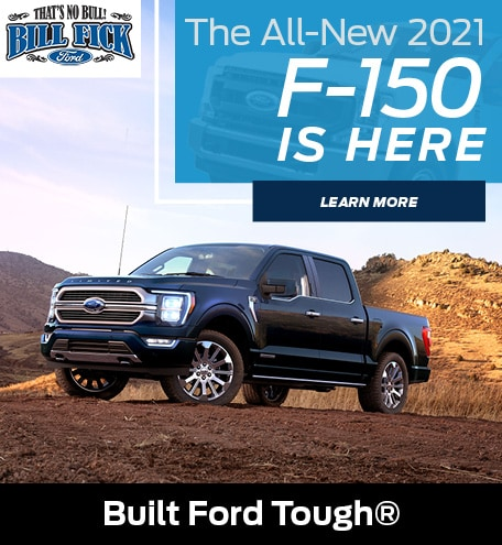 The All-New 2021 F-150 is Here