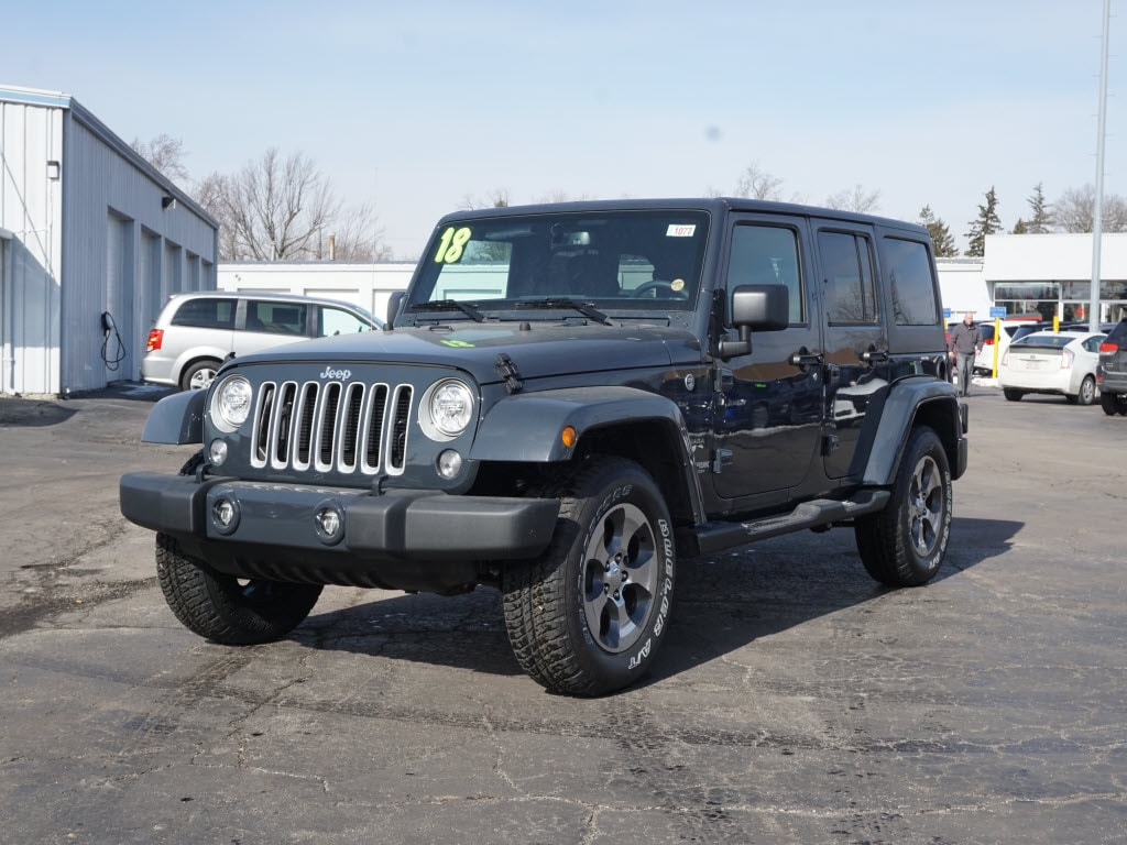 New 2018 Jeep Wrangler Unlimited for sale in Muncie