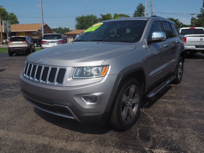 Used 2015 Jeep Grand Cherokee Limited 4x4 SUV in Muncie
