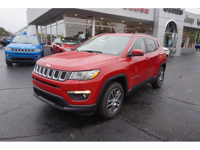 New 2018 Jeep Compass LATITUDE FWD Sport Utility in Muncie