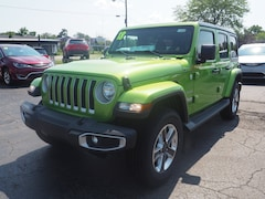 New 2018 Jeep Wrangler UNLIMITED SAHARA 4X4 Sport Utility for sale in Muncie, IN