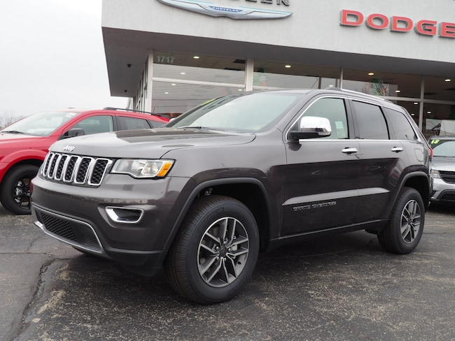 New 2019 Jeep Grand Cherokee LIMITED 4X4 Sport Utility in Muncie