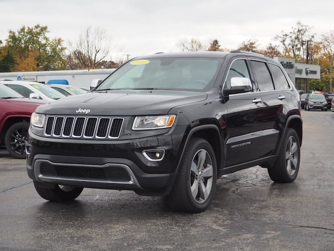 Used 2016 Jeep Grand Cherokee Limited 4x4 SUV in Muncie