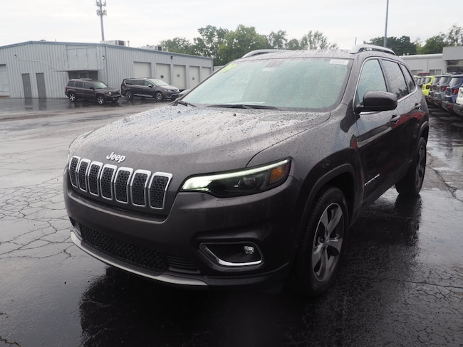 New 2019 Jeep Cherokee LIMITED FWD Sport Utility in Muncie