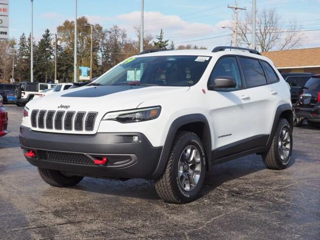 New 2019 Jeep Cherokee TRAILHAWK 4X4 Sport Utility in Muncie