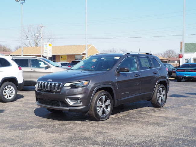 New 2019 Jeep Cherokee LIMITED 4X4 Sport Utility in Muncie