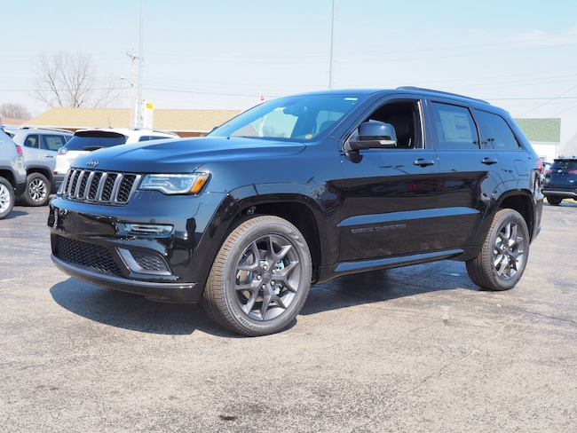 New 2019 Jeep Grand Cherokee LIMITED X 4X4 Sport Utility in Muncie