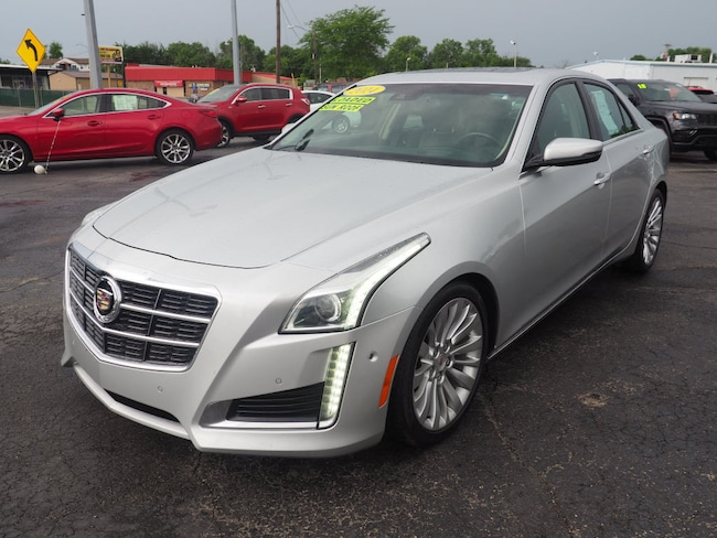 Used 2014 CADILLAC CTS 3.6L Performance Sedan in Muncie