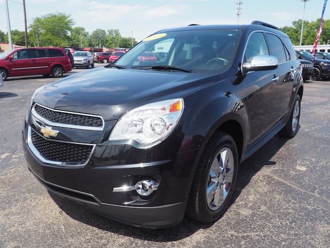 Used 2015 Chevrolet Equinox LT w/2LT SUV in Muncie