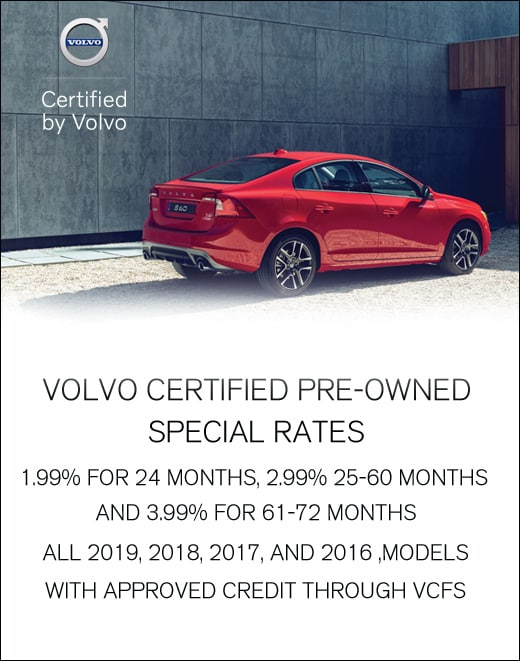 Volvo Certified Pre-Owned >> Certified Pre Owned Vehicle Specials Bill Gray Volvo Cars