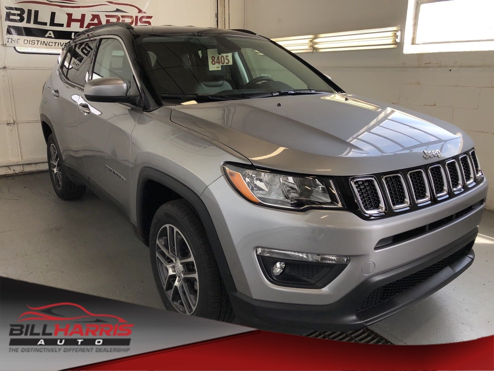 New 2018 Jeep Compass LATITUDE 4X4 Sport Utility for sale near Mansfield