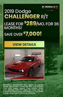 May 2019 Dodge Challenger Lease Special