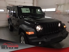 New 2019 Jeep Wrangler UNLIMITED SPORT S 4X4 Sport Utility for sale in Ashland, OH