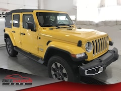New 2018 Jeep Wrangler UNLIMITED SAHARA 4X4 Sport Utility for sale in Ashland, OH