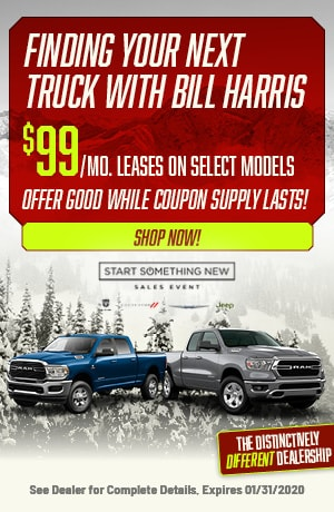 Find Your Next Truck With Bill Harris