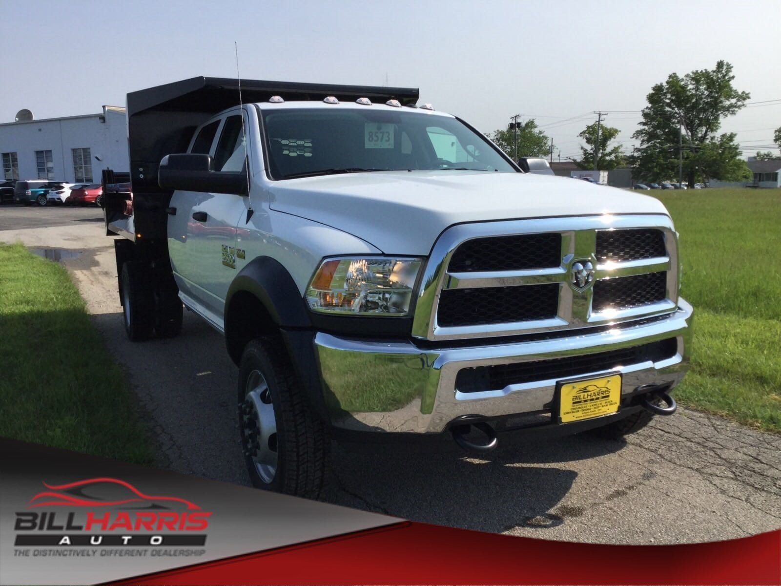 2018 Ram 5500 Chassis Cab 5500 TRADESMAN CHASSIS CREW CAB 4X4 173.4 WB Crew Cab