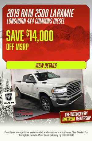 January | 2019 | Ram 2500 Laramie Longhorn 4x4 Cummins Diesel | Discount