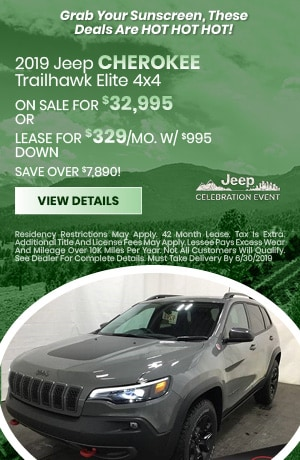 2019 Jeep Cherokee Trailhawk - June
