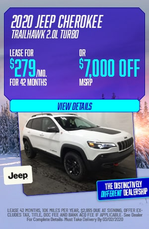 February   2020 Jeep Cherokee Trailhawk   Lease
