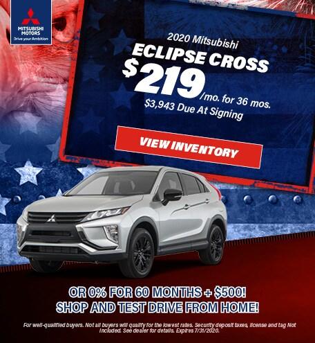 2020 - Eclipse Cross - July