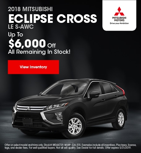 18 Eclipse Cross May