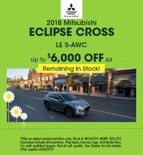 18 Eclipse Cross April