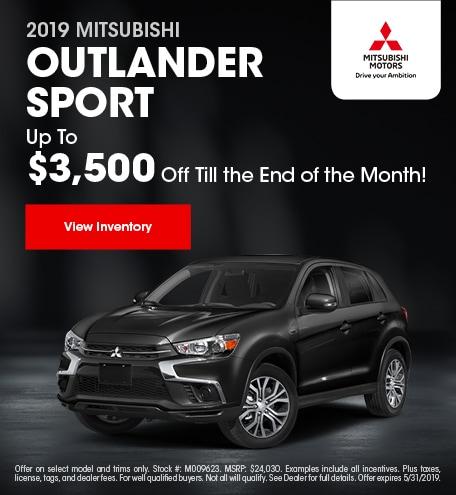 19 Outlander Sport May