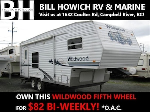 2005 WILDWOOD BY FOREST RIVER F23RK Fifth Wheel