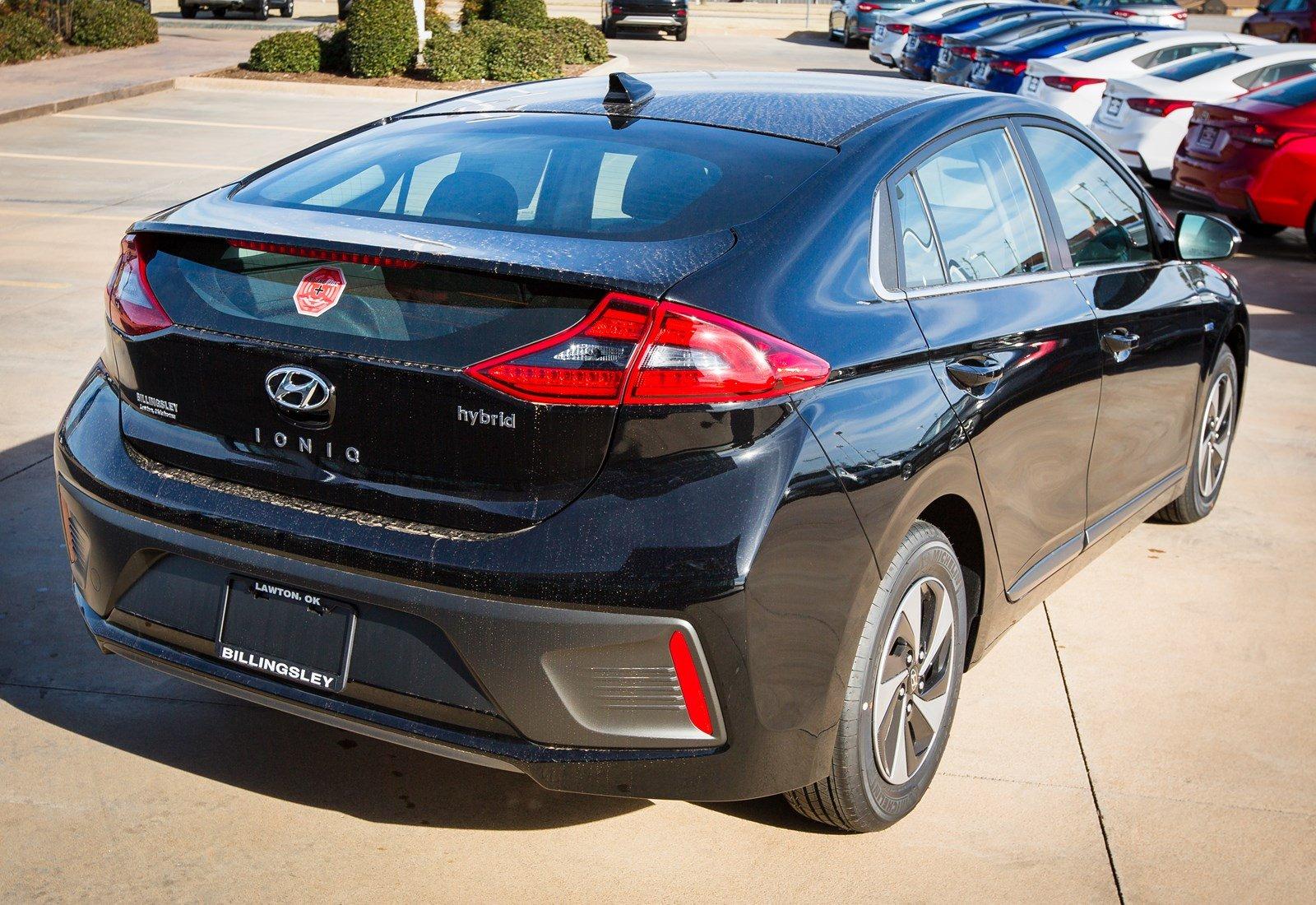 New 2019 Hyundai Ioniq Hybrid For Sale | Lawton OK VIN: KMHC75LC9KU134833