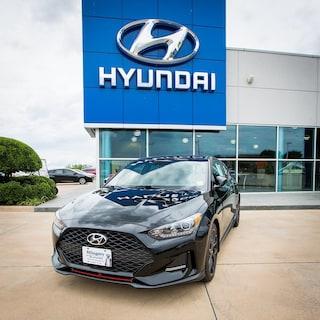 New 2019 Hyundai Veloster Turbo R-Spec Hatchback for sale in Lawton, OK