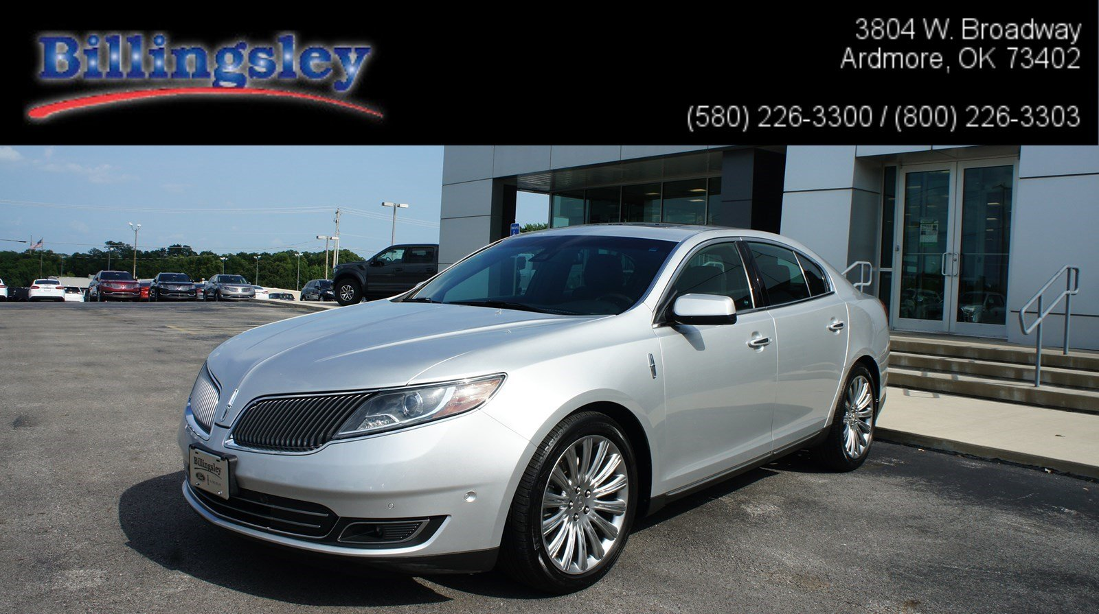 2015 Lincoln MKS Elite w/ Tech Sedan