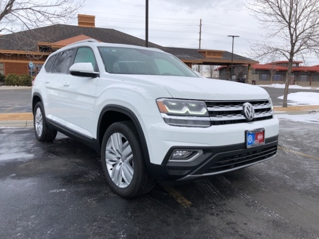New 2019 Volkswagen Atlas SEL SUV in Billings, MT