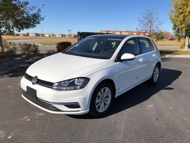 New 2018 Volkswagen Golf Hatchback in Billings, MT