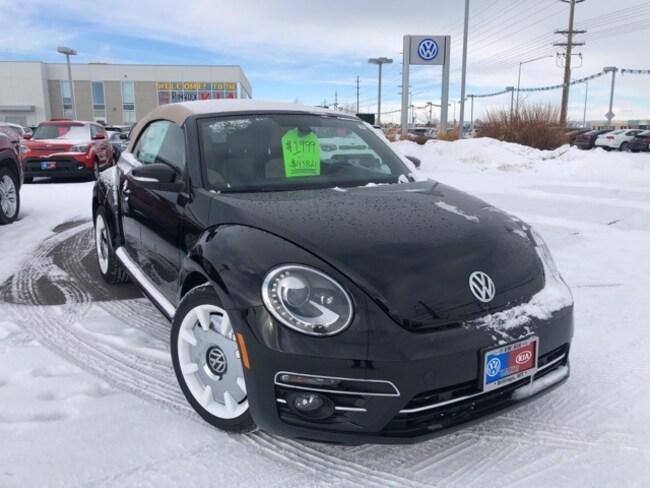 New 2019 Volkswagen Beetle Convertible 2.0T Final Edition SEL Convertible in Billings, MT