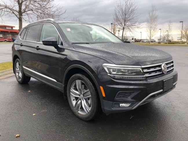 New 2018 Volkswagen Tiguan SEL Premium SUV in Billings, MT