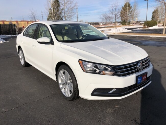 New 2019 Volkswagen Passat 2.0T Wolfsburg Sedan in Billings, MT